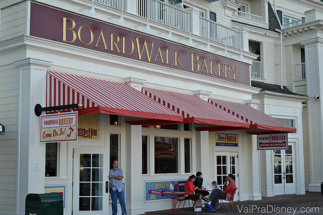Muito amor pela BoardWalk Bakery sempre! Tem alguns dos meus doces preferidos na Disney!