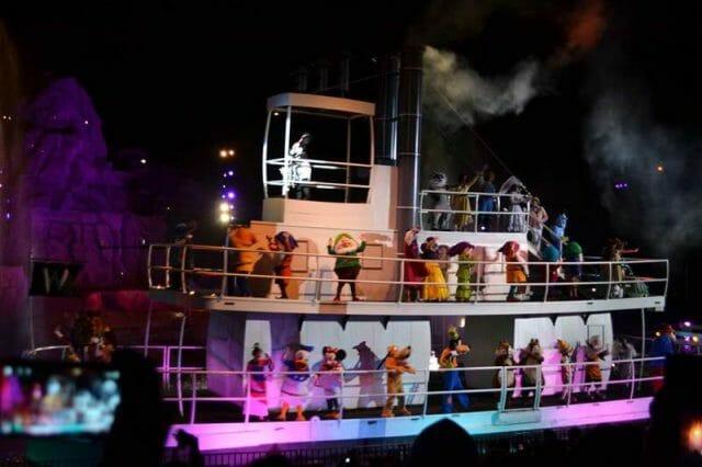 Fantasmic no Hollywood Studios, um dos melhores shows de Orlando
