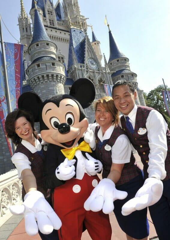 Guest Relations da Disney que fazem os VIP Tours. Um sonho. Foto: divulgação Disney