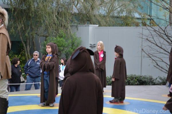 Jedi Academy: indicado apenas para as crianças que já conhecem e gostam de Star Wars