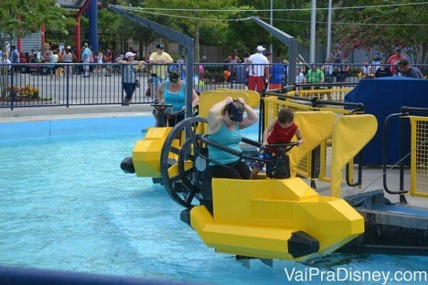 Apesar de não ser um parque indicado para os mais velhos, a Legoland é um excelente parque para as crianças pequenas.