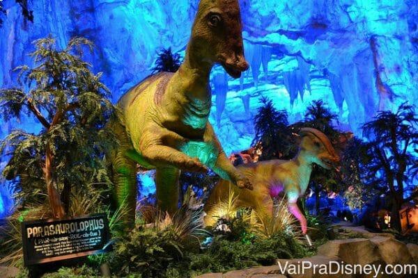 O T-Rex é um dos restaurantes tematizados preferidos das crianças.