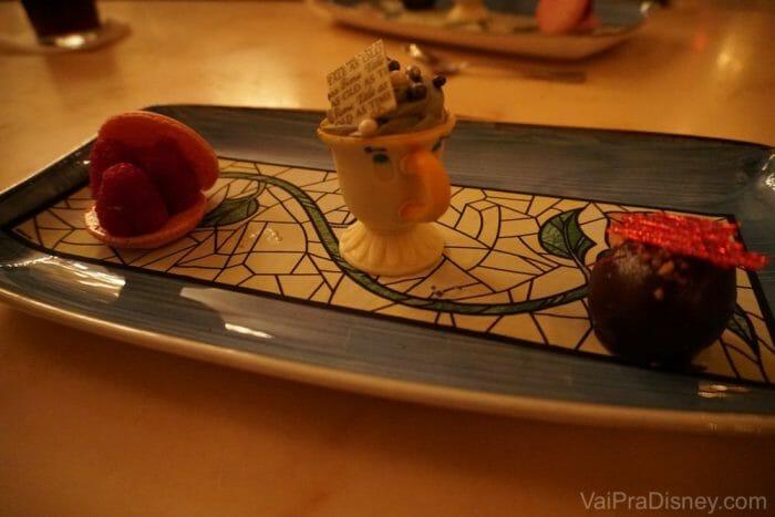 Se existe uma sobremesa mais bonita na Disney, ainda não conheci!