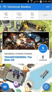 Aplicativo Universal Orlando Resort  - Apps essenciais