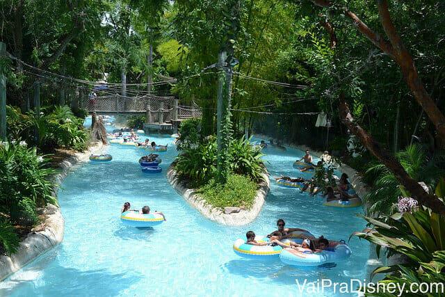 O Typhoon Lagoon é um dos parques aquáticos da Disney