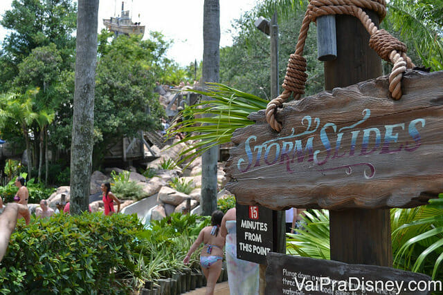 Storm Sliders no Typhoon Lagoon