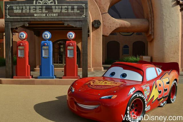 Quer visitar o Art of Animation para conferir a decoração incrível deste hotel? Ele fica do ladinho do Pop Century.