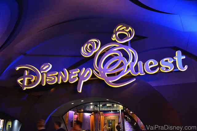 O Disney Quest pode ser uma boa saúda para quem quer visitar Downtown Disney para passar o tempo nos dias de chuva.