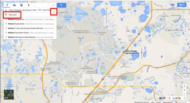 Encontre o Walmart mais próximo do seu hotel em Orlando