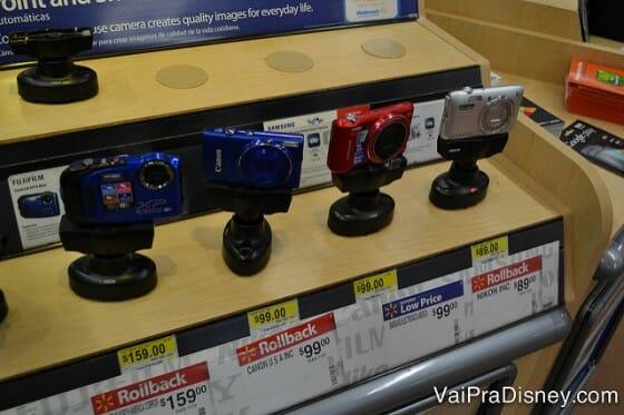 Câmeras no Walmart de Orlando