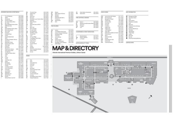 Mapa Premium Outlet - site