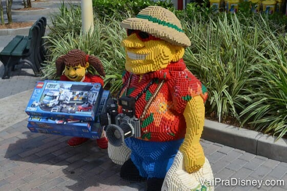 O Legoland é um dos parques que ficam fora de Orlando.