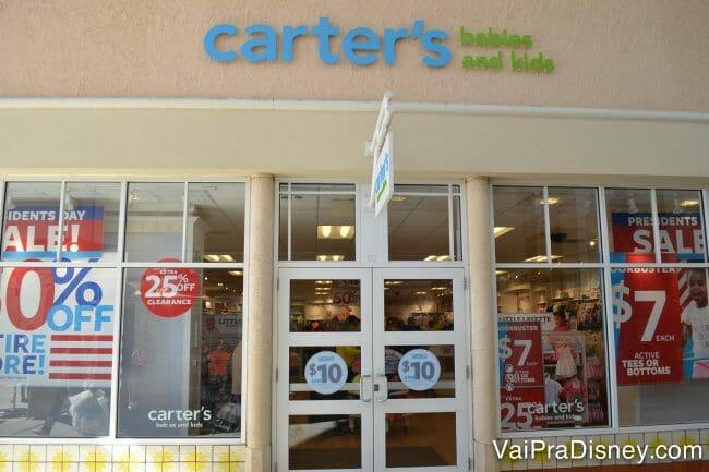 Carter's do Premium. Quanto mais você compra, mais eles te oferecem descontos para as próximas compras. É um ciclo sem fim!