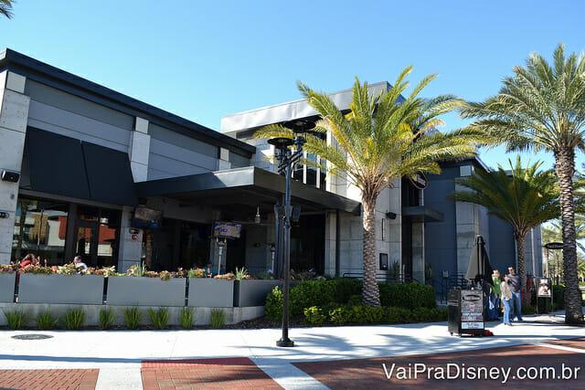 Restaurante no I-Drive 360, que fica em frente ao Orlando Eye