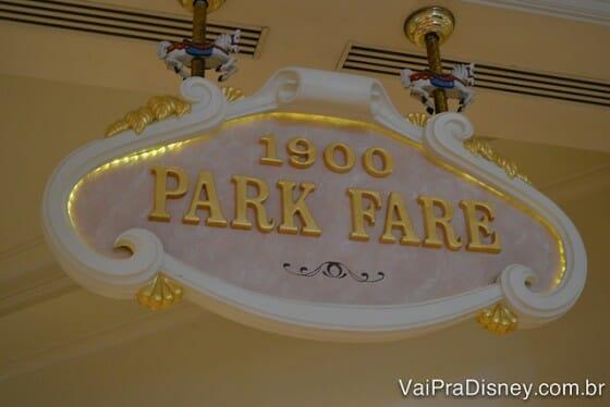 1900 Park Fare, o meu café da manhã preferido em Orlando