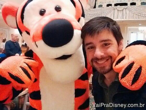 Selfie do Fe com o Tigrão