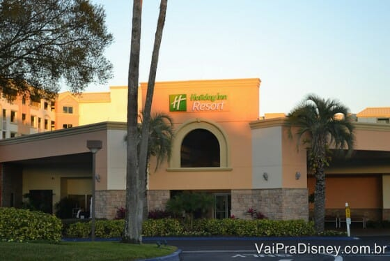 Fachada do Holiday Inn Lake Buena Vista. Gostamos!