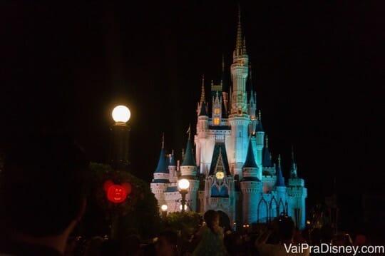 Castelo da Cinderella na festa de Halloween