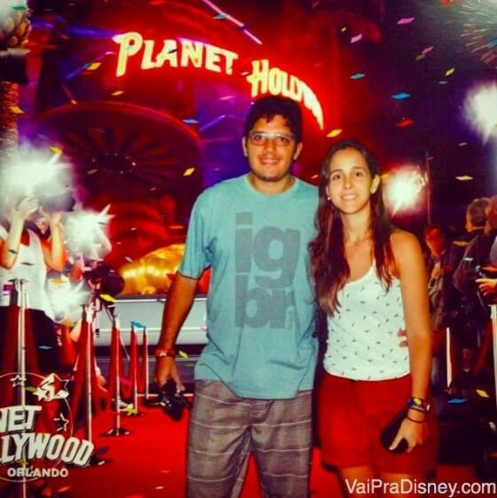 Entrada do Planet Hollywood