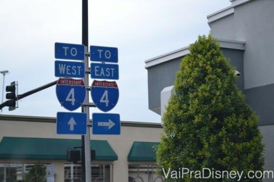 Entendeu a I-4, você praticamente já aprendeu a andar em Orlando!