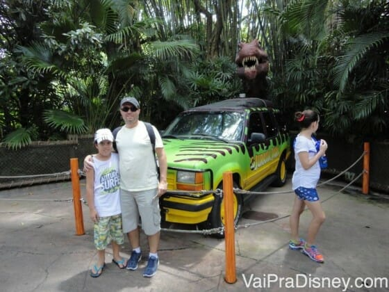 Jurassic Park no Islands of Adventure