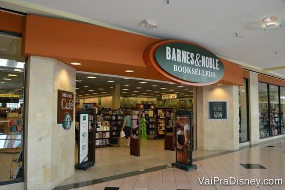 Barnes & Nobles, para quem gosta de livraria, essa é uma ótima pedida no Altamonte Mall.