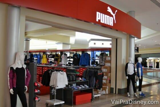 Além da Champs, a Puma também e'uma boa alternativa para comprar artigos esportivos.