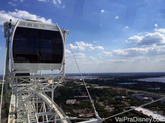 Um pouquinho da vista da cidade da ICON Orlando.