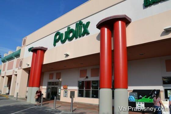 Publix, um ótimo supermercado para comprar comida.