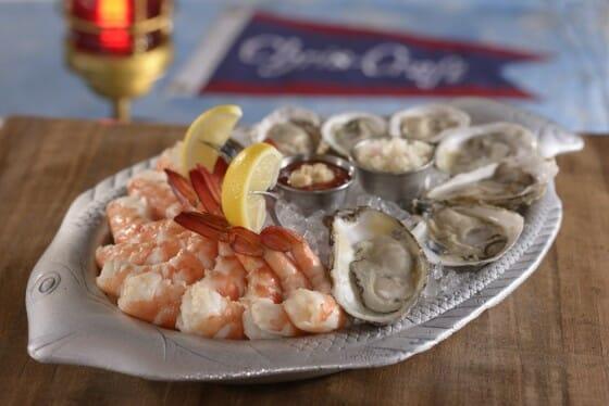 A especialidade da casa são os frutos do mar. Foto: divulgação