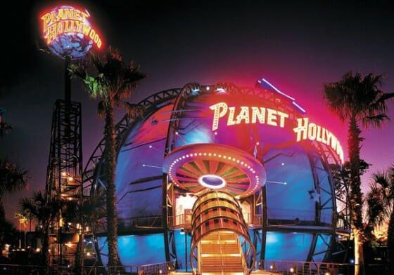 A foto é de divulgação (bem melhor que as minhas) de como era a carinha do Planet Hollywood antes da reforma. Quer ver o depois? Vou ficar devendo porque esqueci de tirar foto! hahaha