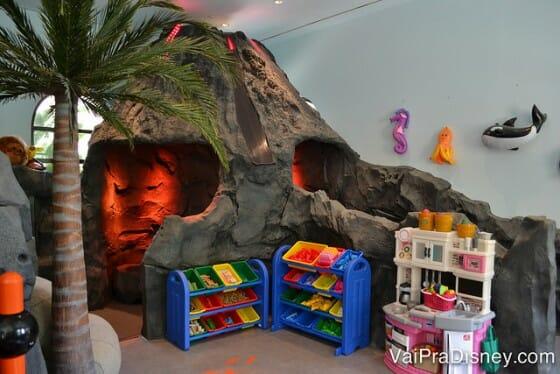 Área das crianças pequenas no Four Seasons Orlando.
