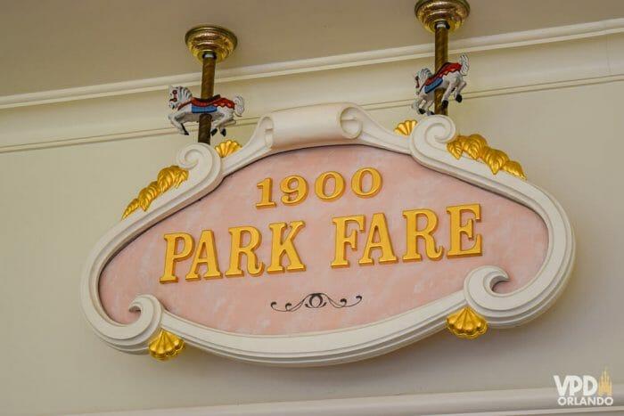 O café da manhã do 1900 Park Fare é um dos nossos preferidos da Disney!