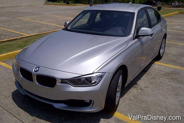 Queria ter dinheiro para ter um desses! hehe BMW alugada na Sixt