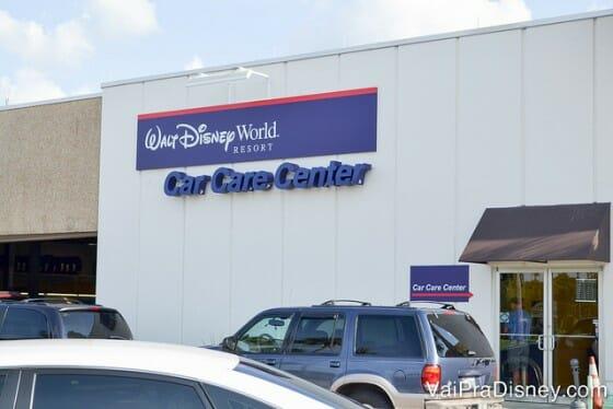 Loja da Alamo na Disney fica no Care Care Center, ao lado do Magic Kingdom
