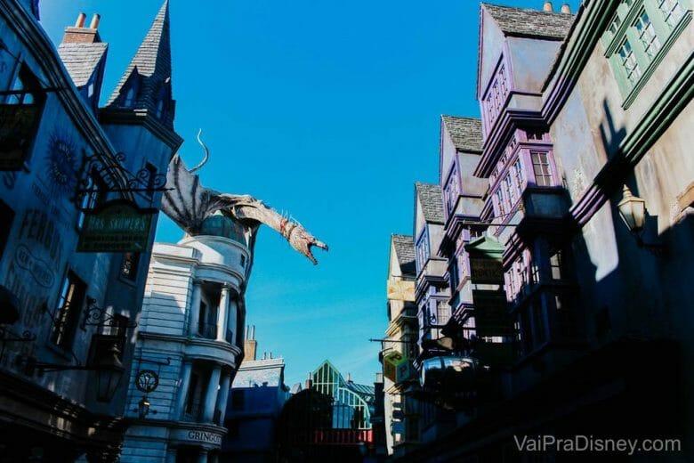 Tem MUITA atração legal do Harry Potter na Universal!