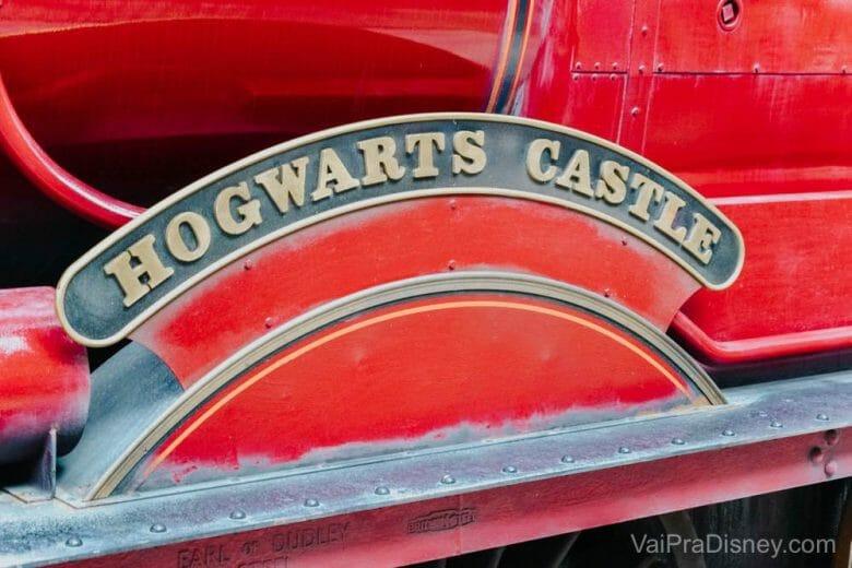Pequenos detalhes do trem do Harry Potter! <3