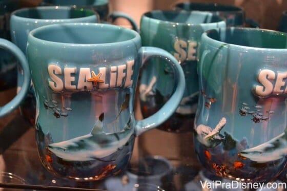 Mais lembrancinhas do Sea Life.