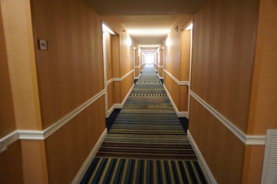 Apesar de simples, esse hotel é bonito e tudo ali tem qualidade.