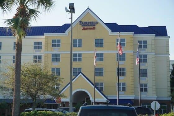 Fairfield Inn by Marriot é uma super opção boa e barata para hospedagem em Orlando.