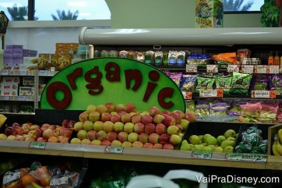 A qualidade das frutas, legumes e alimentos frescos do Trader Joe's é ótima!