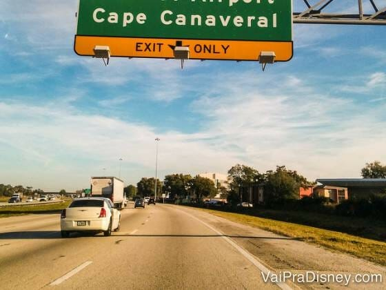 Cape Canaveral, entre 45 e 60 minutos de distância de Orlando