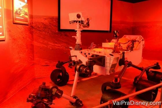 Robô espacial que explorou Marte