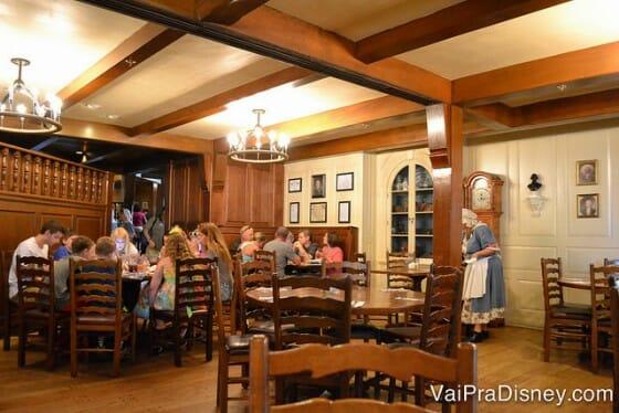 Decoração do Liberty Tree Tavern