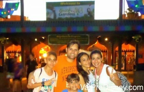 Parte do grupo foi para o Busch Gardens curtir tanto adrenalina, como os animais do parque.