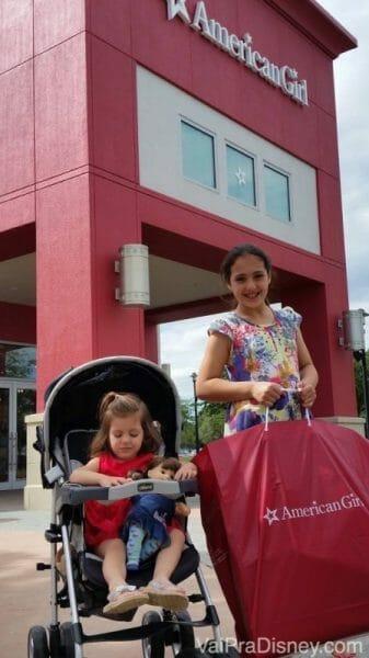 Hora das compras no Florida Mall!