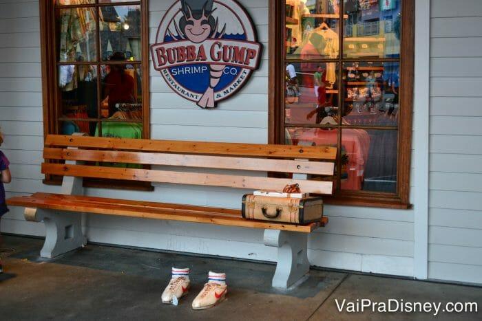 Bubba Gump, o cinematográfico restaurante do filme Forrest Gump, também no City Walk