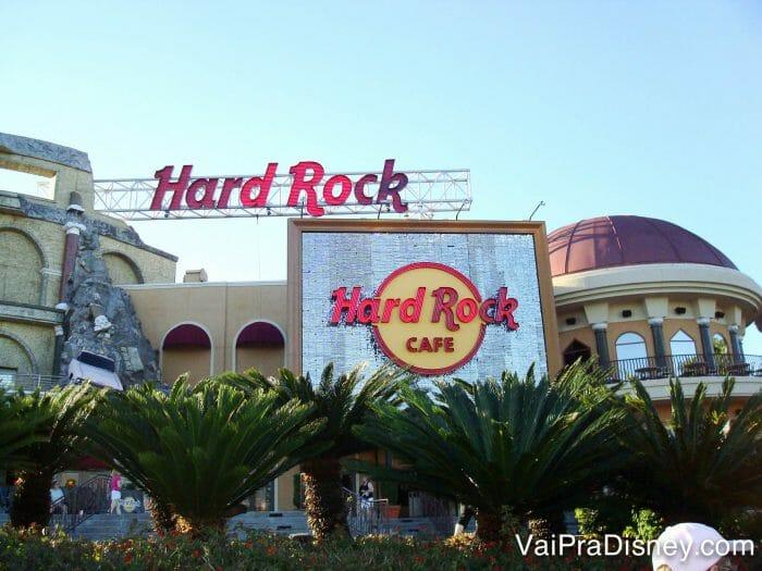 Hard Rock: comida e música muuuito boas!