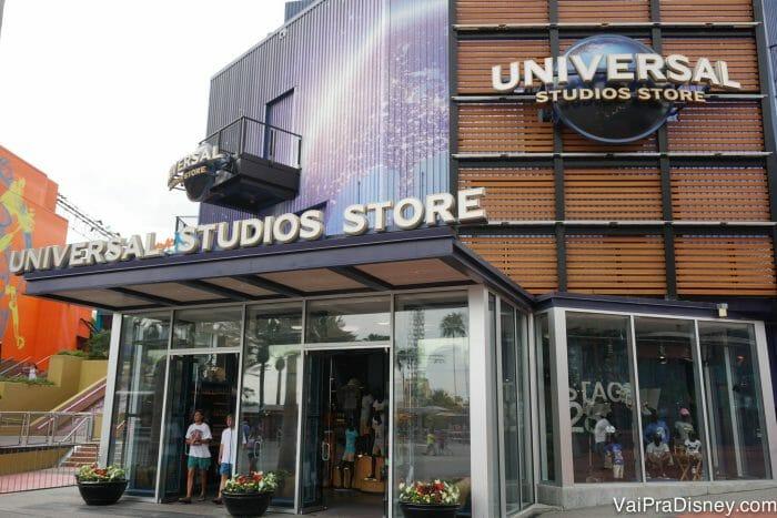 Lojinha da Universal no CityWalk. Ideal pra quem esqueceu de comprar algo no parque ;)