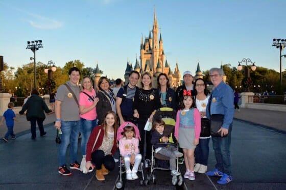Viagem em grupo grande para Orlando. Época mais cheia da Disney, entre o Natal e o Ano Novo
